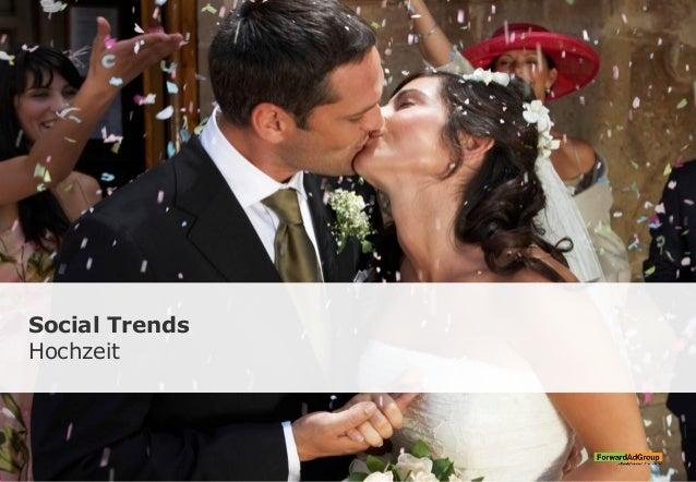 Social Trends Hochzeit