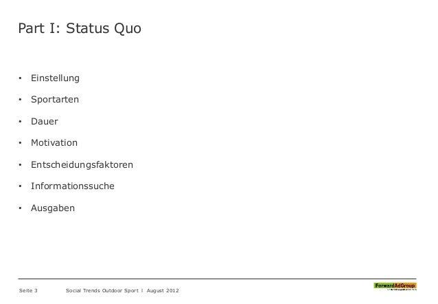 FORAG - Social Trends 2012 - Outdoor Sport Slide 3