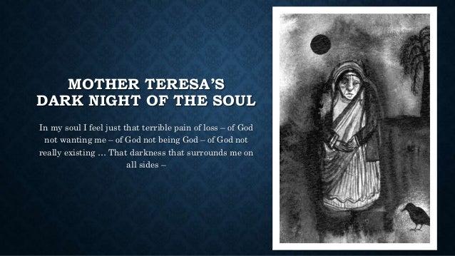 Mother teresa dark night