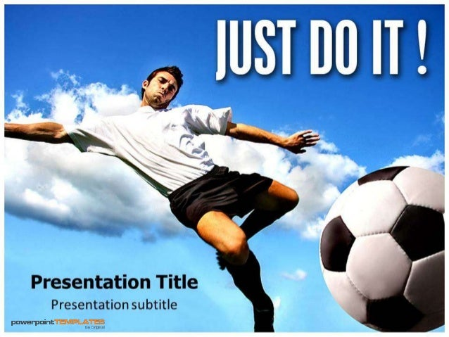 Just do it Nike PowerPoint Template