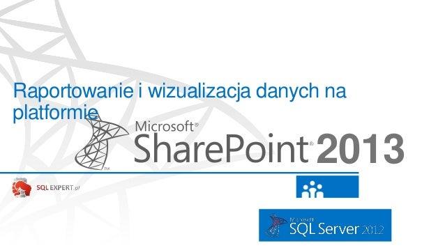 Raportowanie i wizualizacja danych naplatformie2013