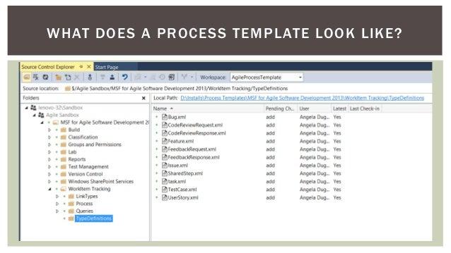 Tfs 2013 process template overview maxwellsz