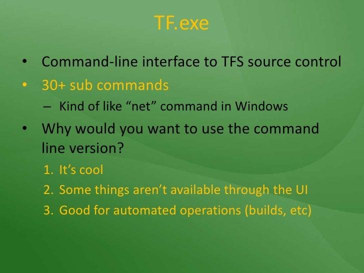Team Foundation Server - Source Control