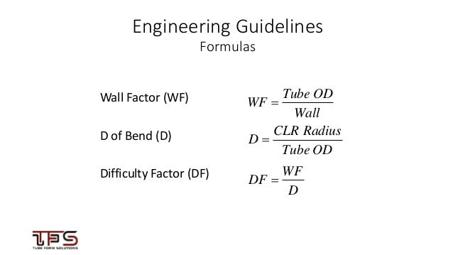 ... Customer Specifications; 19. Engineering Guidelines Formulas ...  sc 1 st  SlideShare & Intro to Rotary Draw Bending: An Engineeru0027s Guide to Bending Tubes