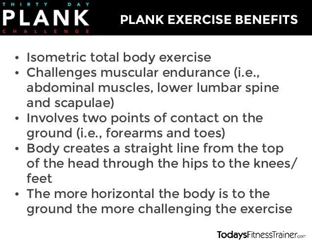 30 Day Plank Challenge Slide 2