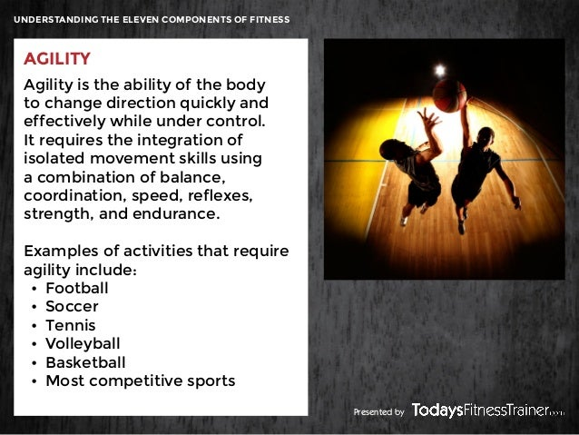Understanding The Eleven Components Of Fitness Skill Related Components Presented By 11