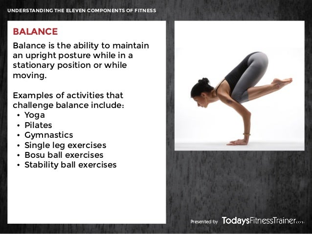 12 Understanding The Eleven Components Of Fitness