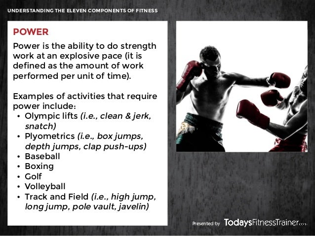 fitness components of volleyball Understanding the eleven components of fitness cardiorespiratory  of fitness skill-related components  golf • volleyball.