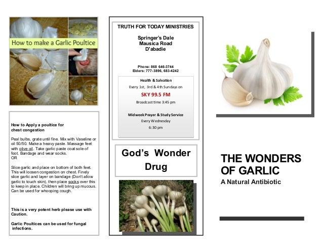 Tftm garlic tract