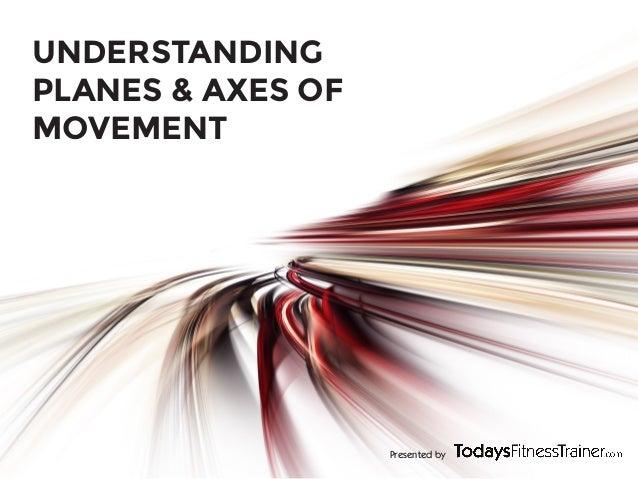 Presented byUNDERSTANDINGPLANES & AXES OFMOVEMENT