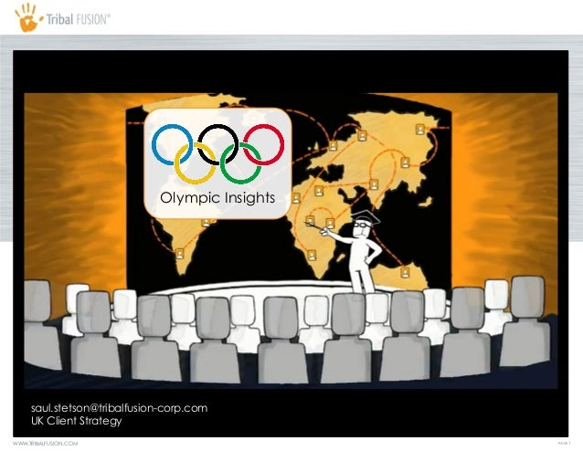 Olympic Insights     saul.stetson@tribalfusion-corp.com     UK Client StrategyWWW.TRIBALFUSION.COM                        ...