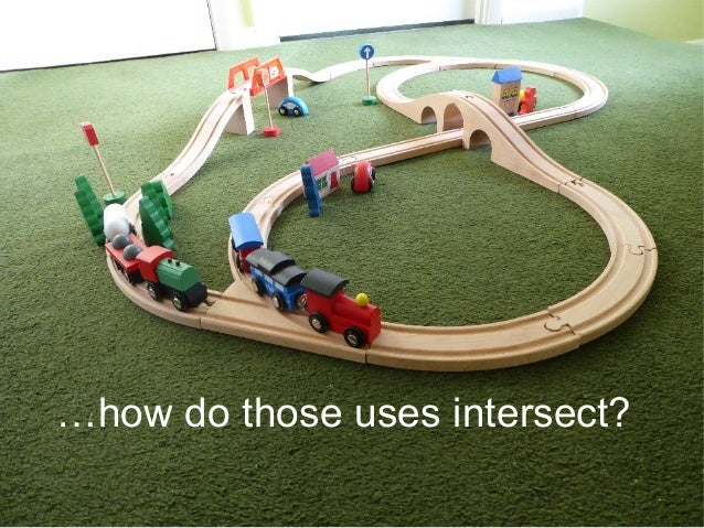 …how do those uses intersect?