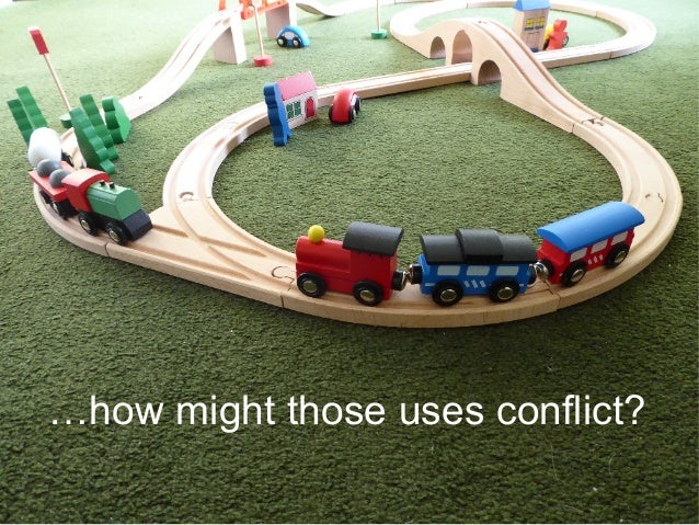 …how might those uses conflict?