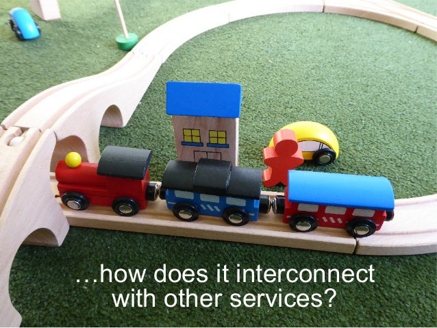 …how does it interconnect with other services?