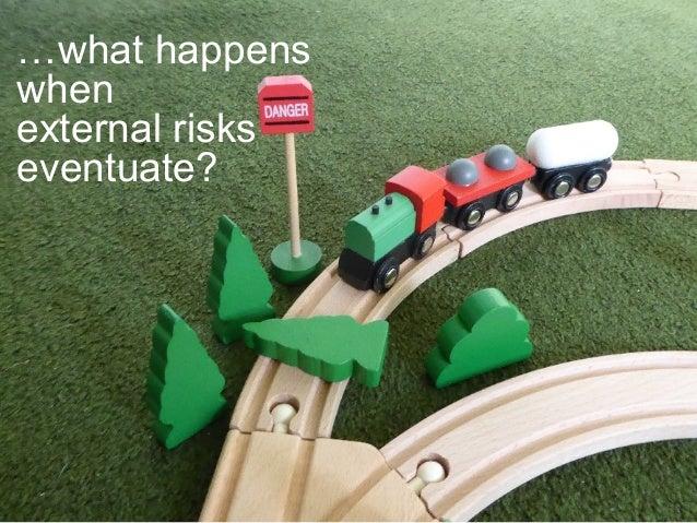 …what happens when external risks eventuate?