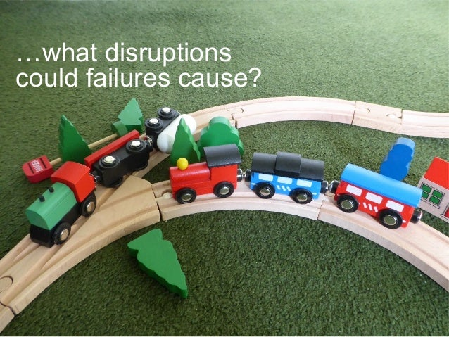 …what disruptions could failures cause?