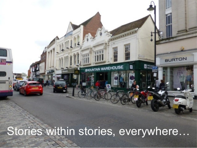 Stories within stories, everywhere…