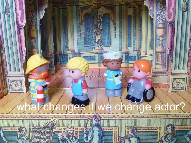 …what changes if we change actor?