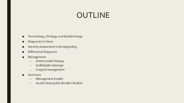 OUTLINE ■ Terminology, Etiology and Epidemiology ■ Diagnostic Criteria ■ Severity assessment criteria/grading ■ Differenti...