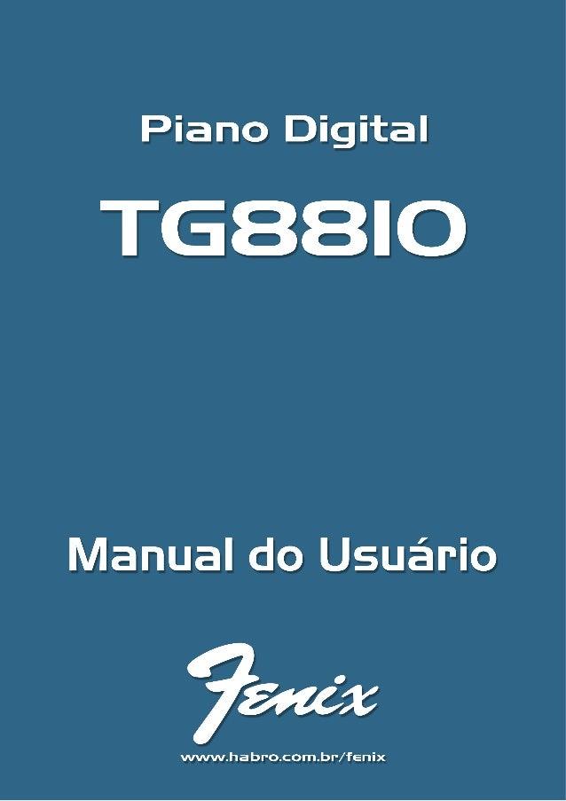 Obrigado por adquirir este instrumento digital. Para um bom funcionamento e segurança, por favorleia este manual cuidadosa...