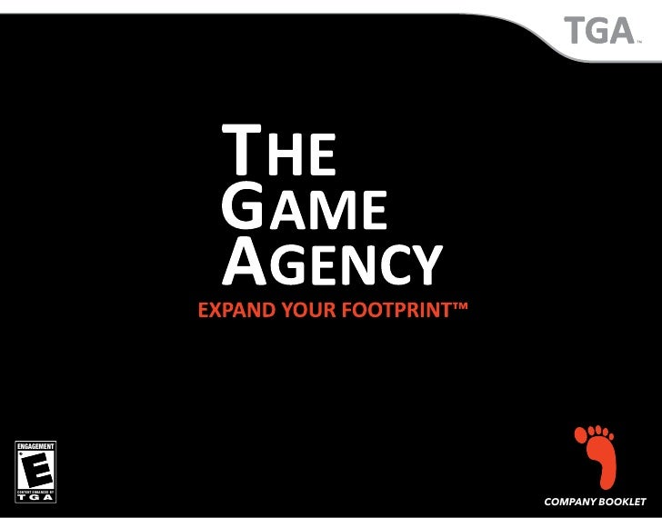 ENGAGEMENT     CONTENT ENHANCED BY TGA                       COMPANY BOOKLET