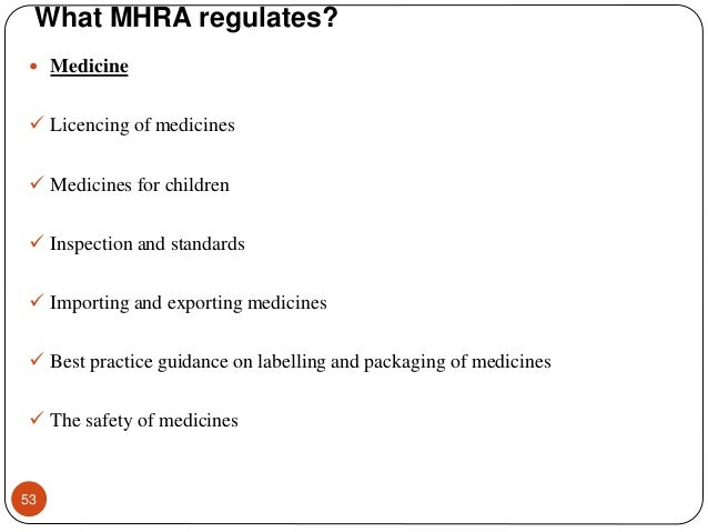 THERAPEUTIC GOODS ADMINISTRATION (TGA) and MHRA