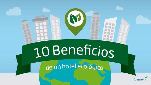 de un hotel ecológico 10 Beneficios