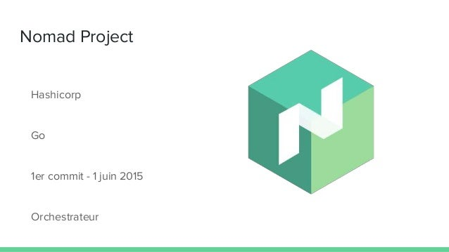 Nomad project for Nomad hashicorp