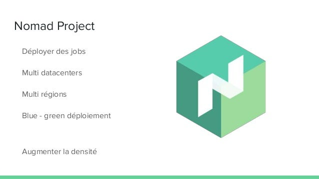 Nomad project for Hashicorp nomad