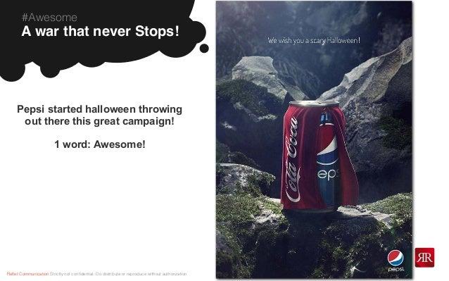 Pepsi Vs Coca Cola Halloween Ad.Tgif Reflet Communication Special Fall Edition Nov 8 2013