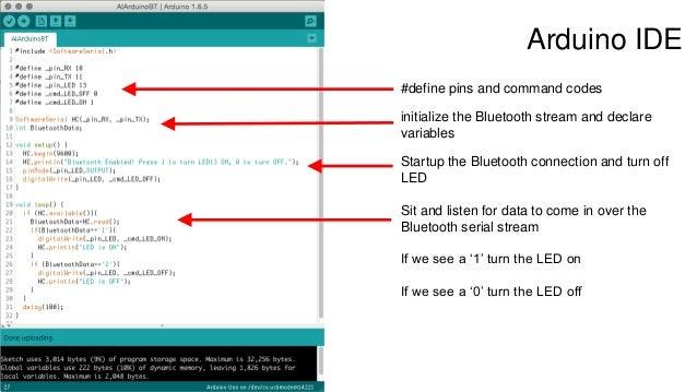 MIT App Inventor + Arduino + Bluetooth