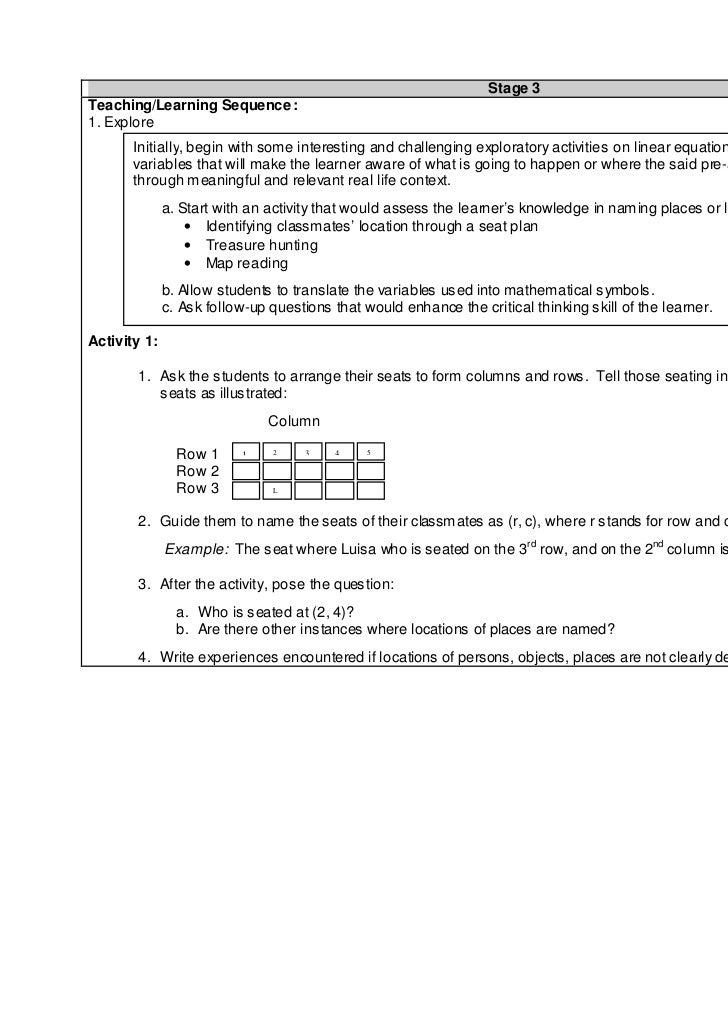 Math I Teachers Guide Sec