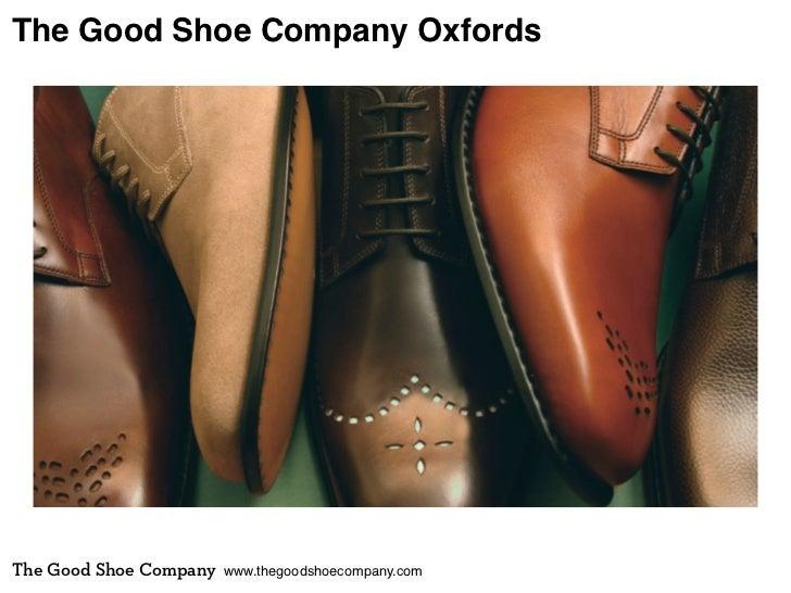 The Good Shoe Company OxfordsThe Good Shoe Company   www.thegoodshoecompany.com