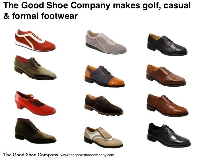 The Good Shoe Company makes golf, casual& formal footwearThe Good Shoe Company   www.thegoodshoecompany.com