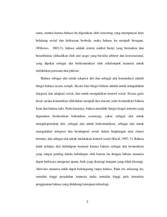 Analisis Fonetik Dan Fonemik Bahasa Dayak Sawai Desa Sekonau Kecamata