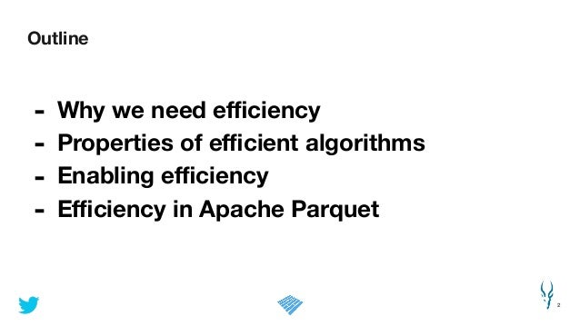 Efficient Data Storage for Analytics with Parquet 2.0
