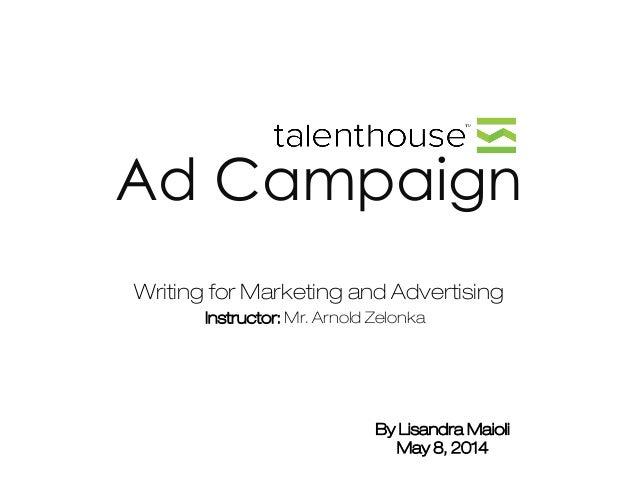 Talenthouse - Ad Campaign