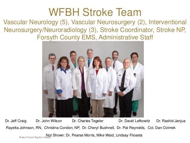 Improving Stroke Care in North Carolina: The WFBH Telestroke Program