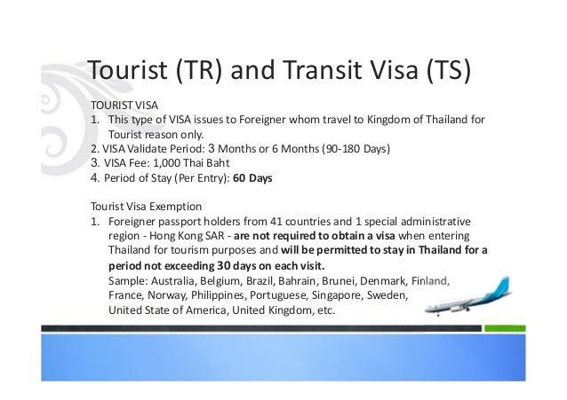 Kingdom Of Thailand Visa