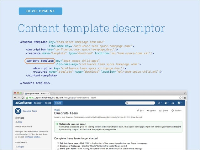 Building content centric add ons for confluence where to go from here malvernweather Choice Image