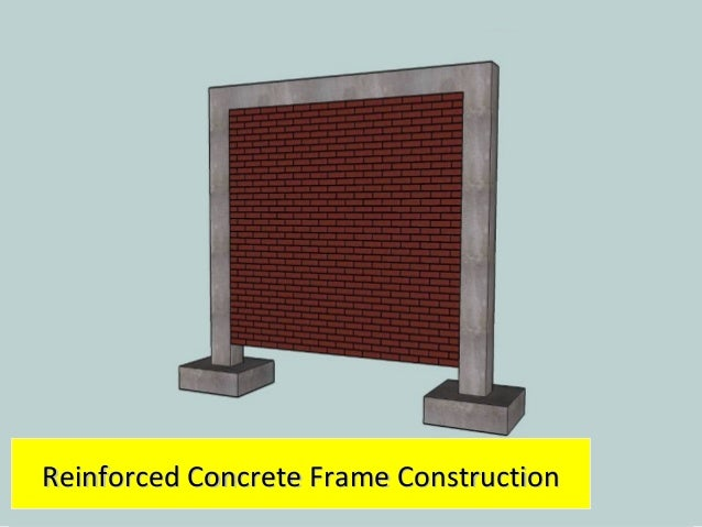 components of a confined masonry building 1313 14 1414 reinforced concrete frame constructionreinforced concrete frame construction