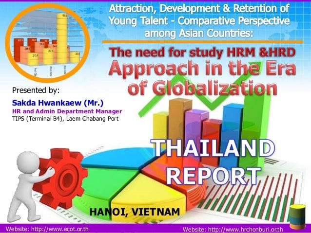 Presented by: Sakda Hwankaew (Mr.)  HR and Admin Department Manager TIPS (Terminal B4), Laem Chabang Port  HANOI, VIETNAM ...