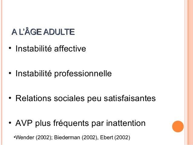 HYPOTHÈSES NEUROPSYCHOLOGIQUESMODÈLE DE BARKLEY (1997)                           27