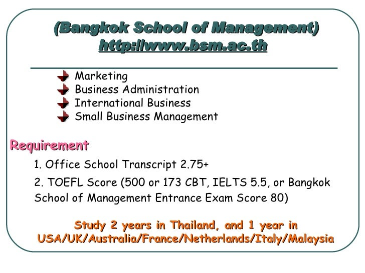 Thammasat University International Program Admission Essay - image 10