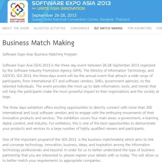 Matchmaking software Sri Lanka