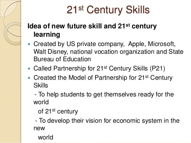 the education system of the 21st We need to create a modern educational system for the modern challenges  future generations will face — a competitive, interconnected global.