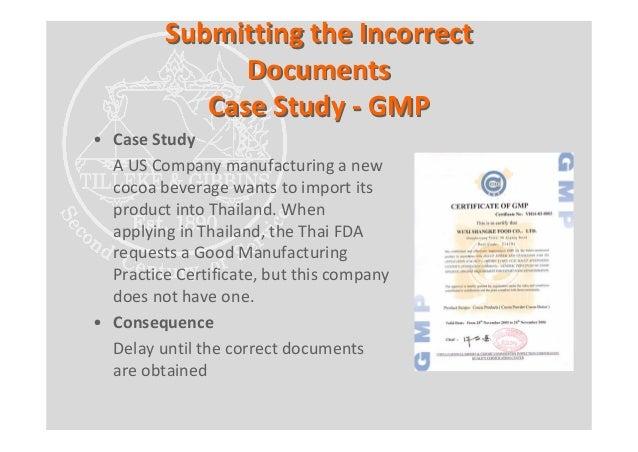 Thai FDA Food Registration Process