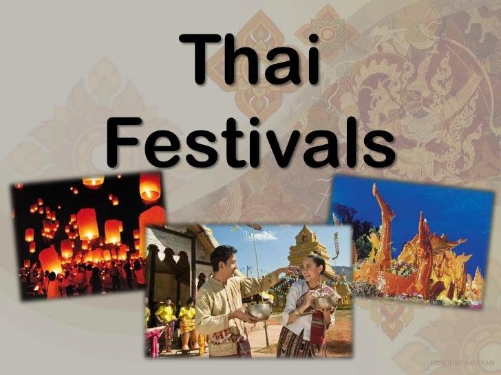 ThaiFestivals