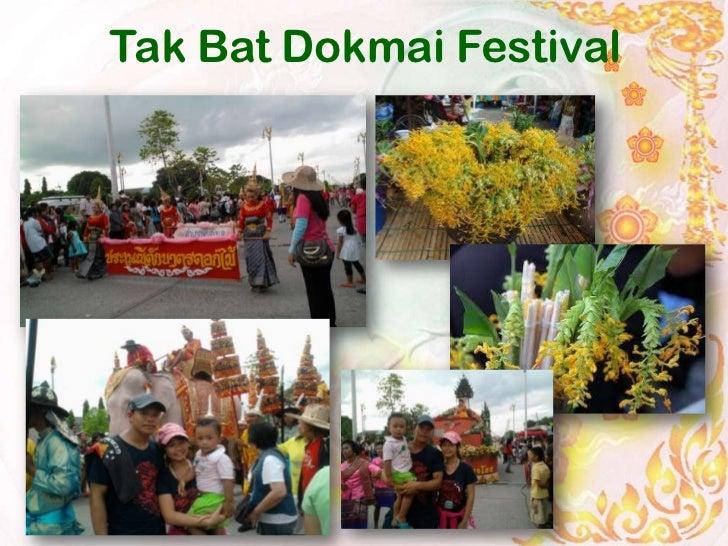 Tak Bat Dokmai Festival