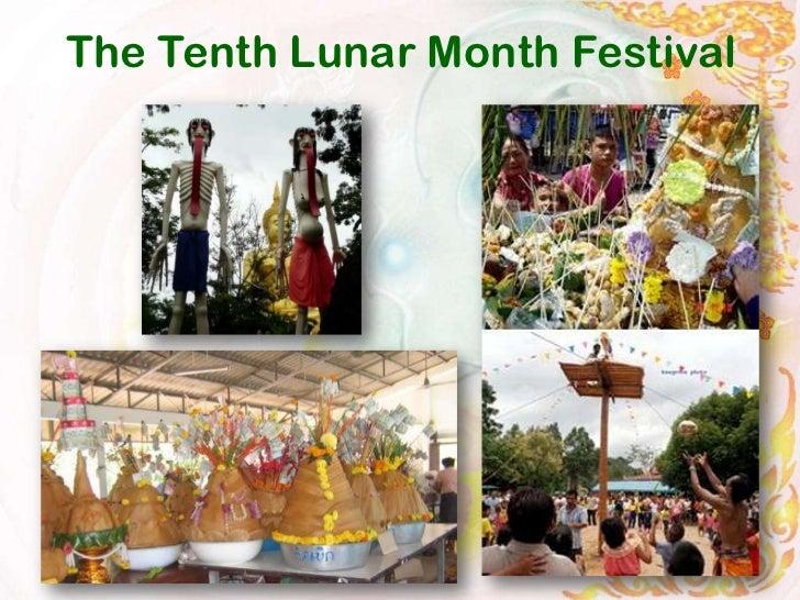 The Tenth Lunar Month Festival